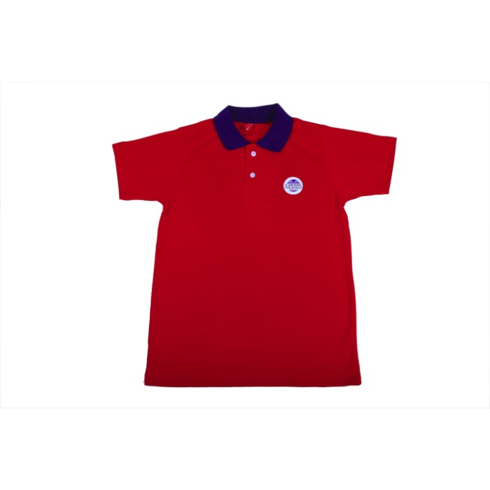 RED T-SHIRT COTTON H/S