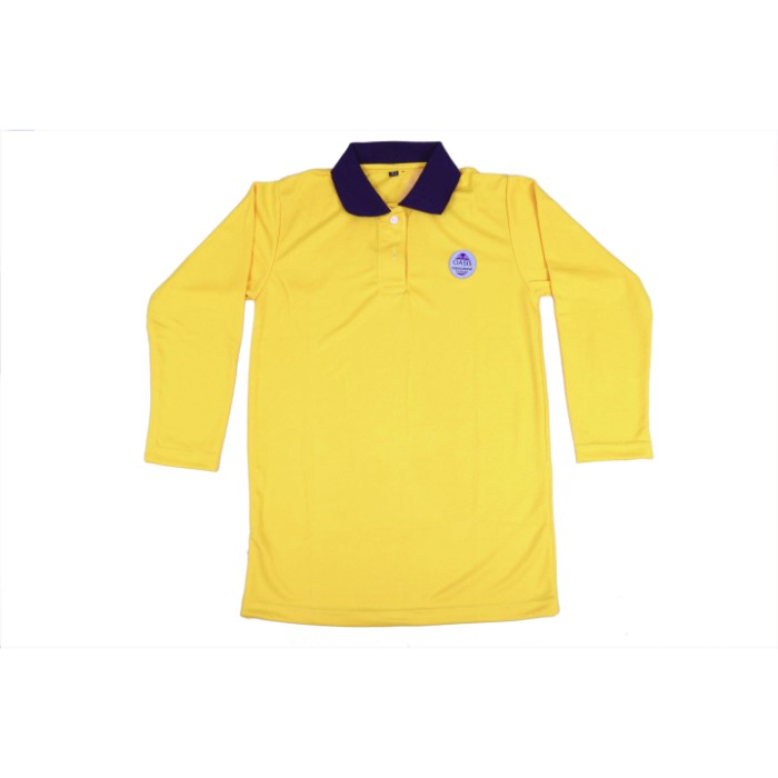 YELLOW T-SHIRT DRY FIT F/S