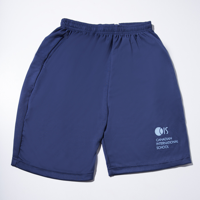 Navy Blue PE Shorts Dry Fit