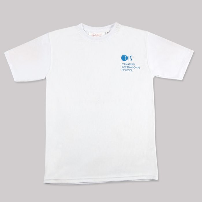White PE T Shirt Organic Cotton