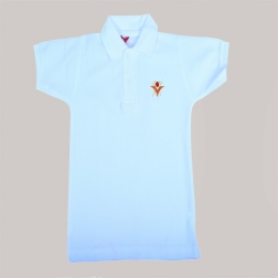 White T Shirt with Logo
